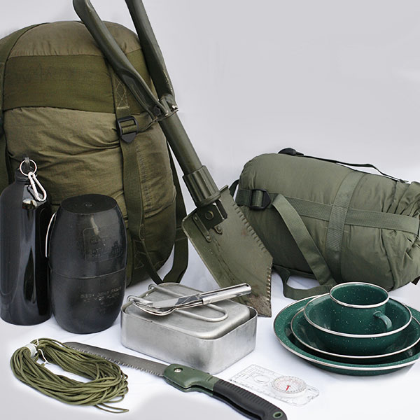 product category - Camping Military Surplus Products