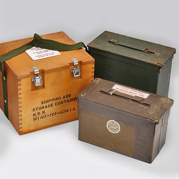 product category - Storage Military Surplus Products